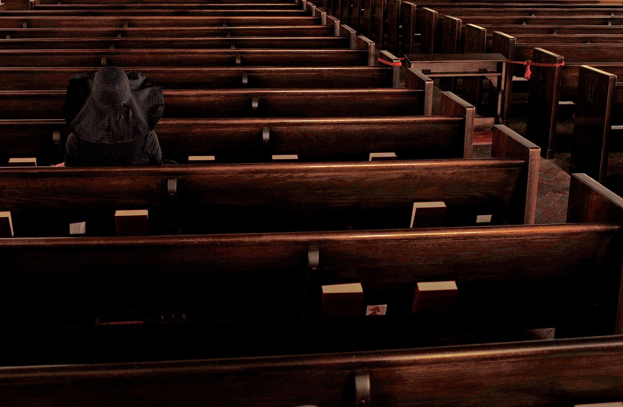 """In Her Silent Dreams""  Miami Beach Community Church.....a stolen moment."