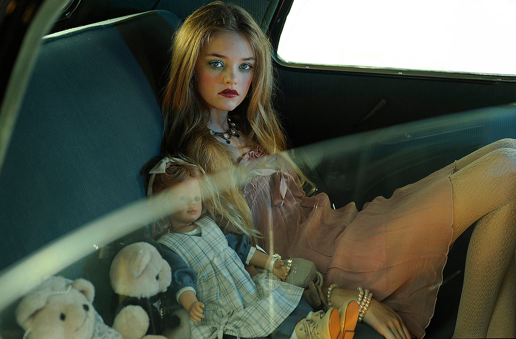 """A Passage""  Willow Hand and her dolls."